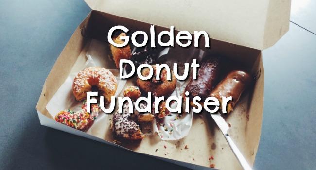 golden donut